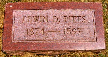 PITTS, EDWIN D. - Linn County, Iowa | EDWIN D. PITTS