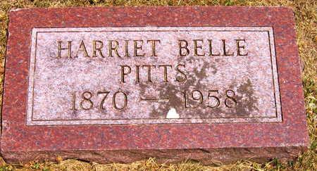 PITTS, HARRIET BELLE - Linn County, Iowa | HARRIET BELLE PITTS