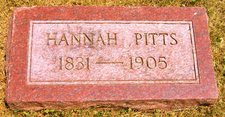 PITTS, HANNAH - Linn County, Iowa | HANNAH PITTS