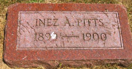 PITTS, INEZ A. - Linn County, Iowa | INEZ A. PITTS