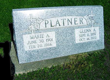 PLATNER, GLENN A. - Linn County, Iowa | GLENN A. PLATNER