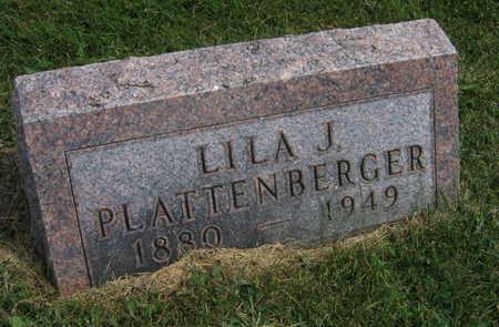 PLATTENBERGER, LILA J. - Linn County, Iowa | LILA J. PLATTENBERGER