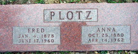 PLOTZ, ANNA - Linn County, Iowa | ANNA PLOTZ