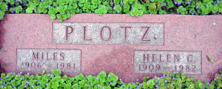 PLOTZ, MILES - Linn County, Iowa | MILES PLOTZ