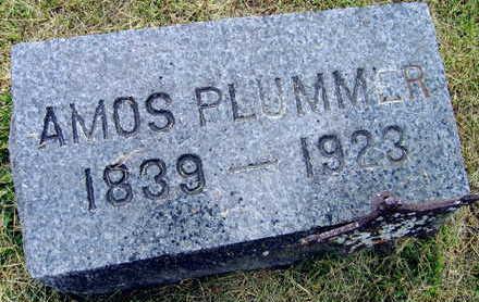 PLUMMER, AMOS - Linn County, Iowa   AMOS PLUMMER