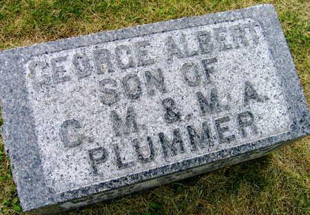 PLUMMER, GEORGE ALBERT - Linn County, Iowa   GEORGE ALBERT PLUMMER