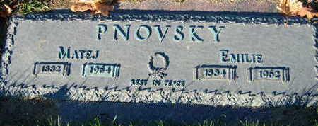 PNOVSKY, EMILIE - Linn County, Iowa | EMILIE PNOVSKY