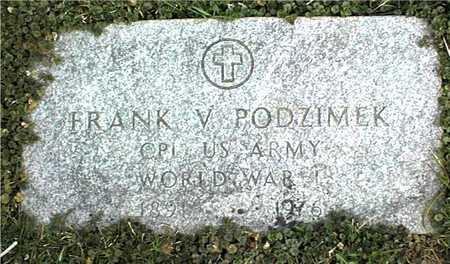 PODZIMEK, FRANK V. - Linn County, Iowa | FRANK V. PODZIMEK