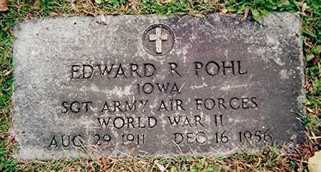 POHL, EDWARD R. - Linn County, Iowa | EDWARD R. POHL