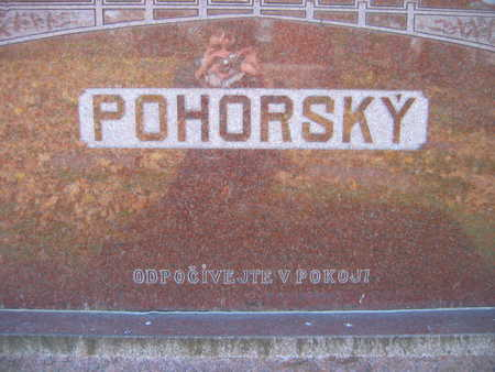 POHORSKY, FAMILY STONE - Linn County, Iowa | FAMILY STONE POHORSKY
