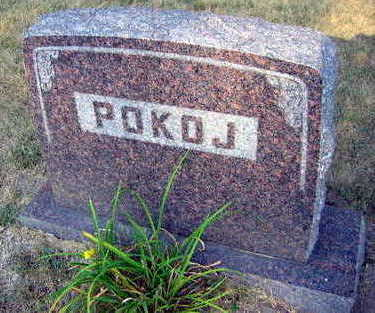 POKOJ, FAMILY STONE - Linn County, Iowa | FAMILY STONE POKOJ