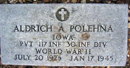 POLEHNA, ALDRICH A. - Linn County, Iowa | ALDRICH A. POLEHNA
