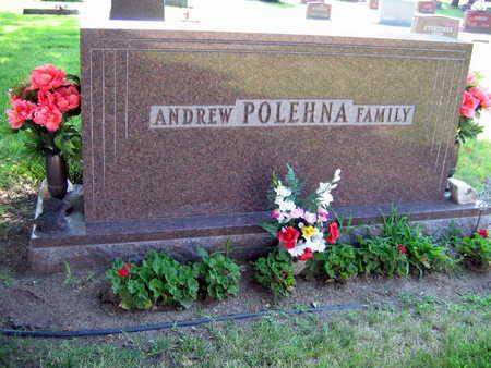 POLEHNA, FAMILY STONE  (ANDREW POLEHNA) - Linn County, Iowa | FAMILY STONE  (ANDREW POLEHNA) POLEHNA