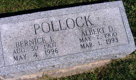 POLLOCK, BERNICE I. - Linn County, Iowa | BERNICE I. POLLOCK