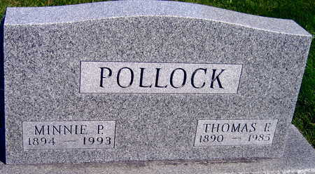 POLLOCK, MINNIE P. - Linn County, Iowa | MINNIE P. POLLOCK