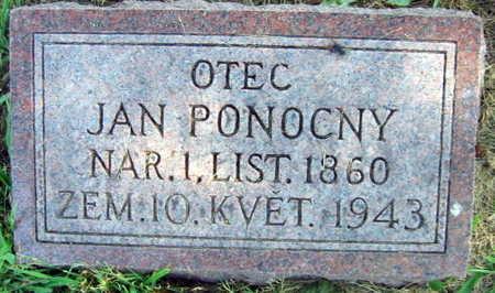 PONOCNY, JAN - Linn County, Iowa | JAN PONOCNY