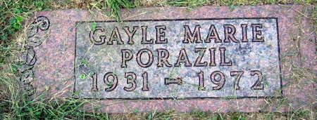PORAZIL, GAYLE MARIE - Linn County, Iowa | GAYLE MARIE PORAZIL