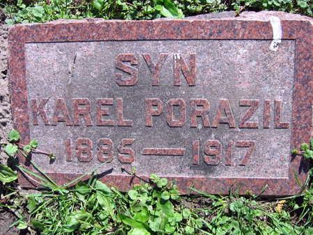 PORAZIL, KAREL - Linn County, Iowa | KAREL PORAZIL