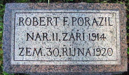 PORAZIL, ROBERT F. - Linn County, Iowa | ROBERT F. PORAZIL