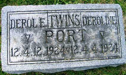 PORT, DEROL E. - Linn County, Iowa | DEROL E. PORT