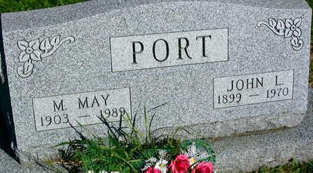 PORT, JOHN L. - Linn County, Iowa   JOHN L. PORT