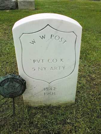 POST, W.W. - Linn County, Iowa | W.W. POST