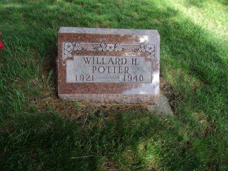 POTTER, WILLIARD HENRY - Linn County, Iowa | WILLIARD HENRY POTTER