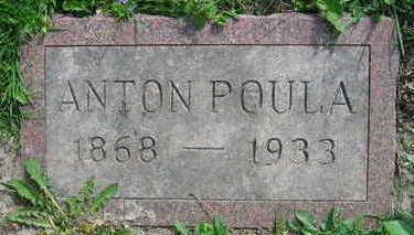 POULA, ANTON - Linn County, Iowa | ANTON POULA
