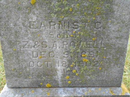 POWELL, EARNIST C. - Linn County, Iowa | EARNIST C. POWELL