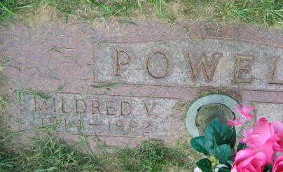 POWELL, MILDRED V. - Linn County, Iowa | MILDRED V. POWELL