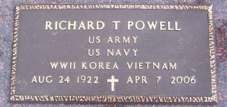 POWELL, RICHARD T. - Linn County, Iowa | RICHARD T. POWELL