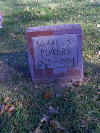 POWERS, CLARK A. - Linn County, Iowa | CLARK A. POWERS