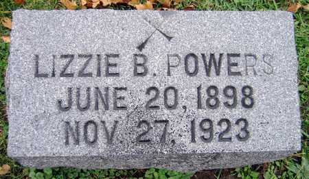 POWERS, LIZZIE B. - Linn County, Iowa | LIZZIE B. POWERS