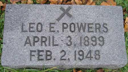 POWERS, LEO E. - Linn County, Iowa | LEO E. POWERS