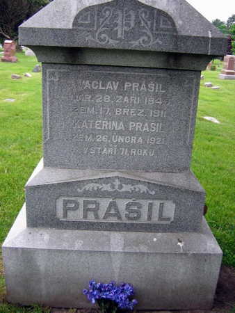 PRASIL, VACLAV - Linn County, Iowa | VACLAV PRASIL