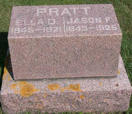 PRATT, ELLA D. - Linn County, Iowa | ELLA D. PRATT