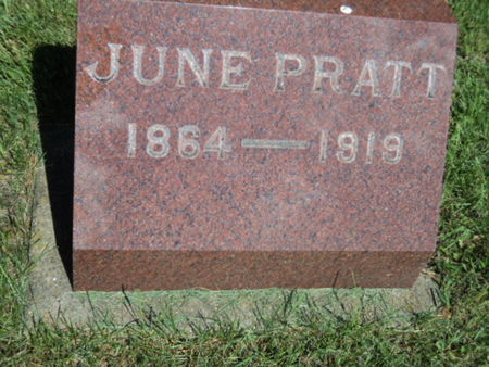 PRATT, JUNE - Linn County, Iowa | JUNE PRATT