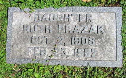 PRAZAK, RUTH - Linn County, Iowa | RUTH PRAZAK