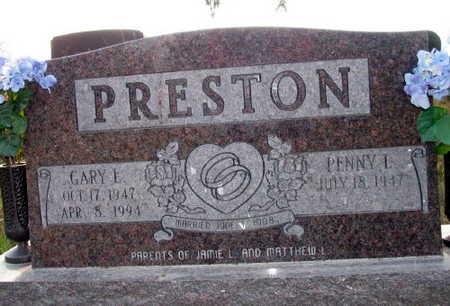 PRESTON, GARY L. - Linn County, Iowa | GARY L. PRESTON