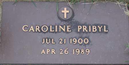 PRIBYL, CAROLINE - Linn County, Iowa | CAROLINE PRIBYL