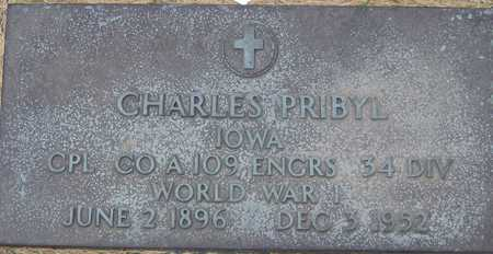 PRIBYL, CHARLES - Linn County, Iowa | CHARLES PRIBYL