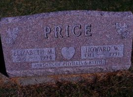 PRICE, ELIZABETH M - Linn County, Iowa | ELIZABETH M PRICE