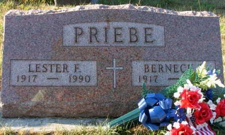 PRIEBE, LESTER F. - Linn County, Iowa | LESTER F. PRIEBE