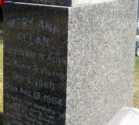 ALLAN PRIMROSE, MARY ANN - Linn County, Iowa | MARY ANN ALLAN PRIMROSE