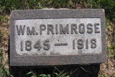 PRIMROSE, WM - Linn County, Iowa | WM PRIMROSE