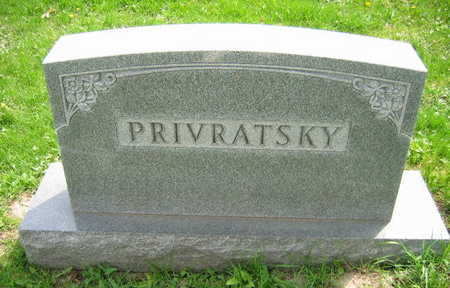 PRIVRATSKY, FAMILY STONE - Linn County, Iowa | FAMILY STONE PRIVRATSKY