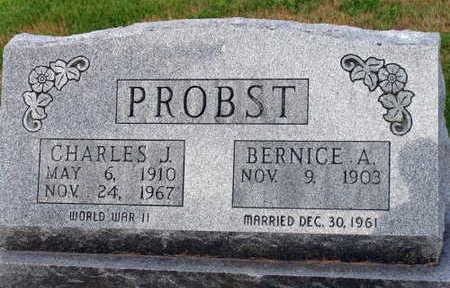 PROBST, CHARLES J. - Linn County, Iowa | CHARLES J. PROBST