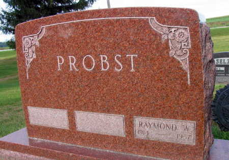 PROBST, RAYMOND W. - Linn County, Iowa   RAYMOND W. PROBST