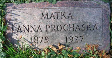 PROCHASKA, ANNA - Linn County, Iowa | ANNA PROCHASKA