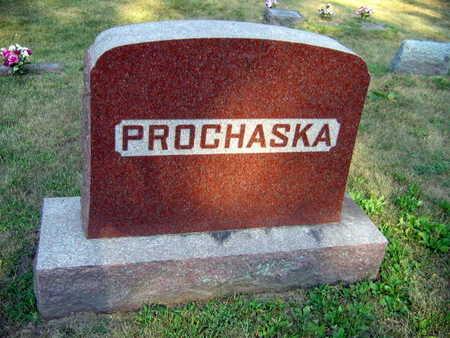 PROCHASKA, FAMILY STONE - Linn County, Iowa   FAMILY STONE PROCHASKA
